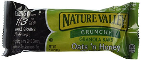 Nature Valley Nature Valley Honey & Oat Granola Bars (49 X 1.49 Ounce )Total Net Wt (73.01 Ounce ), 73.1 Ounce
