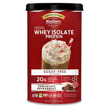 Biochem 100% Whey Isolate Protein - Chocolate Peppermint Flavor - Pre & Post Workout - Meal Replacement - Keto-Friendly - 20g of Protein - Easily Digestible - Easy to Mix