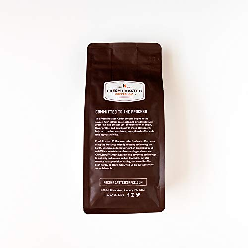 Fresh Roasted Coffee LLC, Tanzanian Peaberry Coffee, Light Roast, Whole Bean, 5 Pound Bag