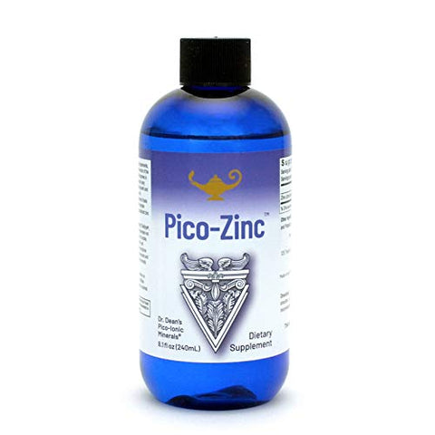 RNA Reset - Pico-Zinc, Picometer Zinc Solution, Immune Function Supplement, Ionic Liquid Zinc, 8.1 fl oz
