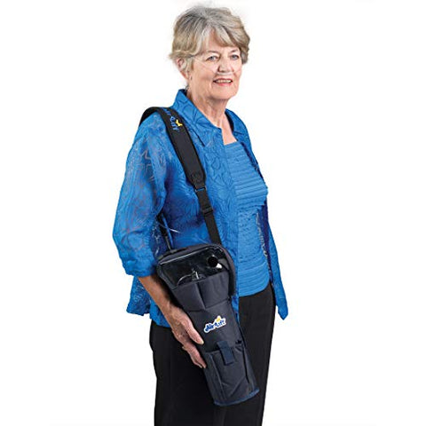 Roscoe Portable Oxygen Tank Comfort Shoulder Bag for D Cylinders - Medical Oxygen Cylinder Holder
