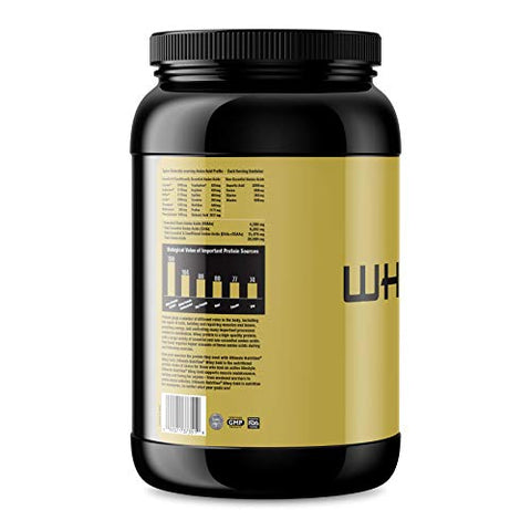 Ultimate Nutrition Whey Gold Protein Powder with 20 Grams of Protein and Amino Acids for Maximum Muscle Growth and Recovery, 27 Servings, Vanilla
