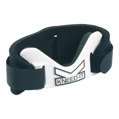 Pro Band Sports Kneedit Knee Support, Black/White