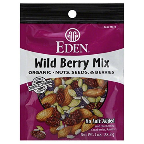 Eden Organic Wild Berry Mix, 1 Ounce