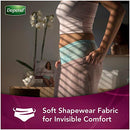 Image of Depend Silhouette Incontinence Underwear for Women, Maximum Absorbency, Disposable, Large/Extra-Large, Pink, 52 Count (Packaging May Vary) (10036000366362)