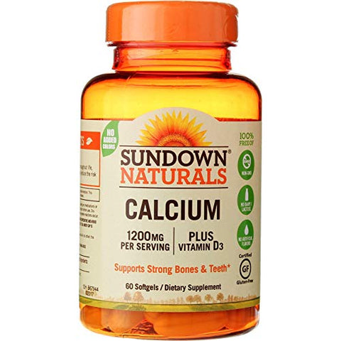 Sd Calcium 1200mg + D Size 60ct Sd Calcium 1200mg + D 60ct Ea