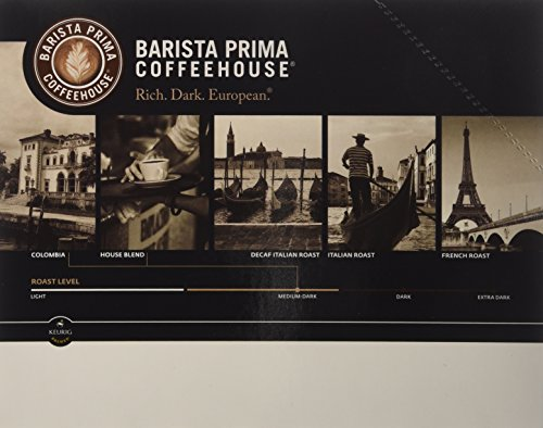 Barista Prima Decaf Italian Roast (2 Boxes of 24 K-Cups)