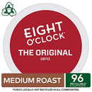 Image of Eight O'Clock Coffee The Original, Single-Serve Keurig K-Cup Pods, Medium Roast Coffee, 96 Count