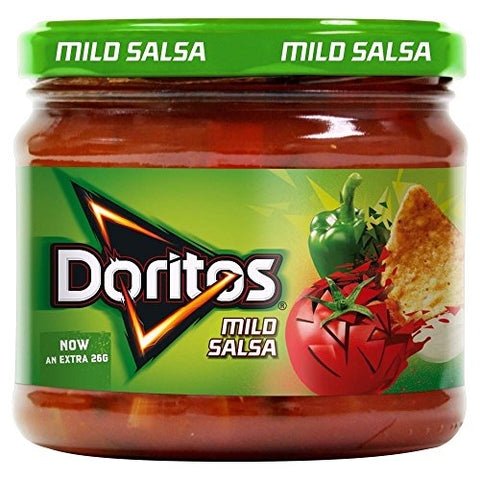 Walkers Doritos Mild Salsa (326g) - Pack of 2