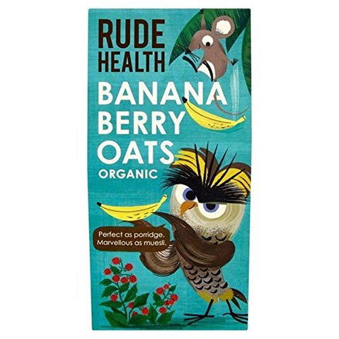 Rude Health Banana Berry Oats 325g