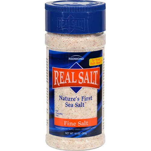 Redmond Real Salt Gourmet All Natural Sea Salt, 4.75 Ounce Shakers (Pack of 12)