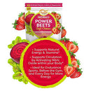 Image of Healthy Delights Naturals - Power Beets Soft Chews - Super Concentrated - Circulation Superfood - Supports Natural Energy & Stamina - Delicious Strawberry Burst Flavor - 30 Count