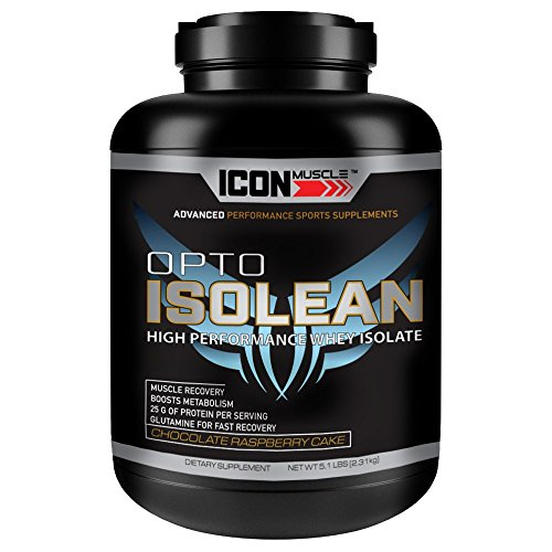 Isolean Whey Protein Isolate 5 Pound, Chocolate Raspberry Cake