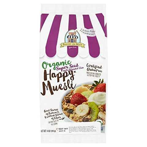 Bakery On Main Organic Muesli Superseed with Sprouted Chia 397g