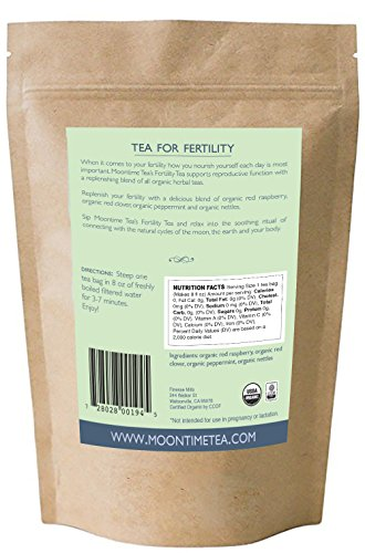 Organic Fertility Tea, 30 Teabags, 2.12 oz