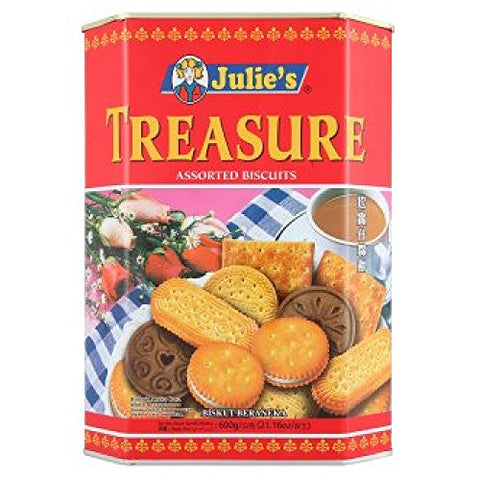 Julie's Treasure Assorted Biscuits 600g (628MART)