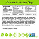 Image of Zing Plant-Based Protein Bar | Oatmeal Chocolate Chip, 12 Count | Warm Cinnamon and Crisp Apple | 10g Protein and 7g Fiber | Vegan, Gluten-Free, Non-GMO | Created by Professional Nutritionists
