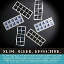 Image of Cell Phone EMF Protection Radiation Neutralizers - Slim Design - Proudly Made in The USA - 5, 10 or 20 Pack - Developed by Dr. Valerie Nelson