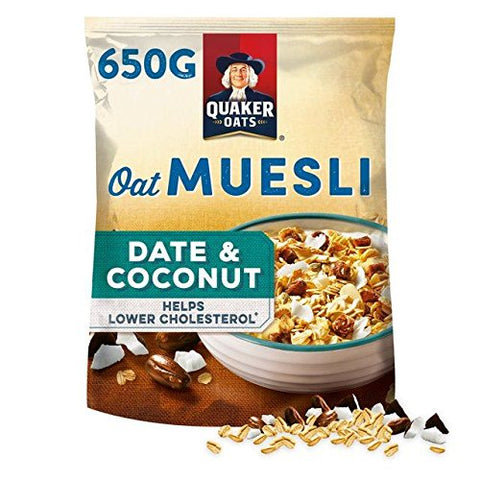 Quaker Dates & Coconut Muesli 650g