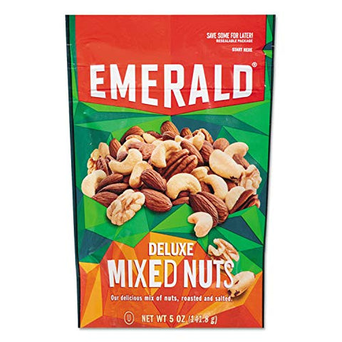 Emerald Mixed Nuts, 5 oz Pack, 6/Carton