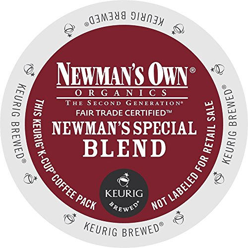 Newman's Own Special Blend Coffee, K-Cup Portion Pack for Keurig K-Cup Brewers (Pack of 48)