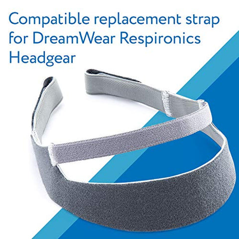 Impresa Replacement for DreamWear Respironics Headgear for Dreamwear Nasal Mask Strap for CPAP Machine