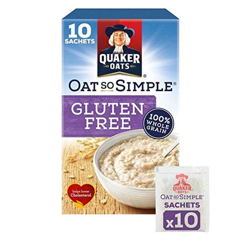 Quaker Oat So Simple Gluten Free Original Porridge 10 x 35g