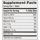 Image of Caltrate 2 in 1 DUAL ACTION, 600+D3 Plus Minerals, Calcium & Vitamin D3 Supplement Tablet, 600 mg - 120 Count