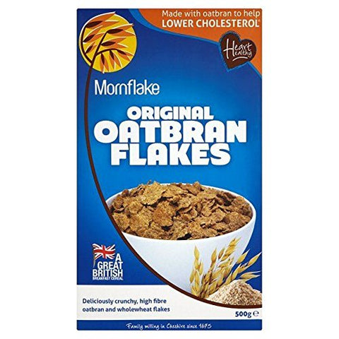 Mornflake Oatbran Flakes Original 500g