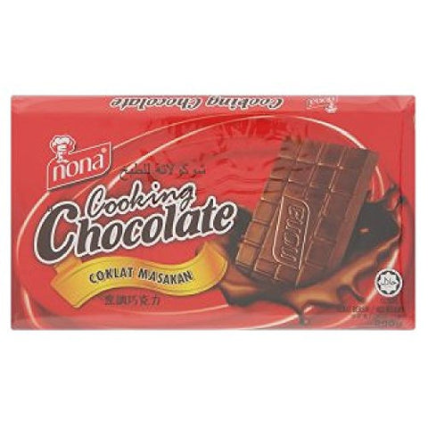 Nona Cooking Chocolate 200g (628MART) (Chocolate, 6 Count)