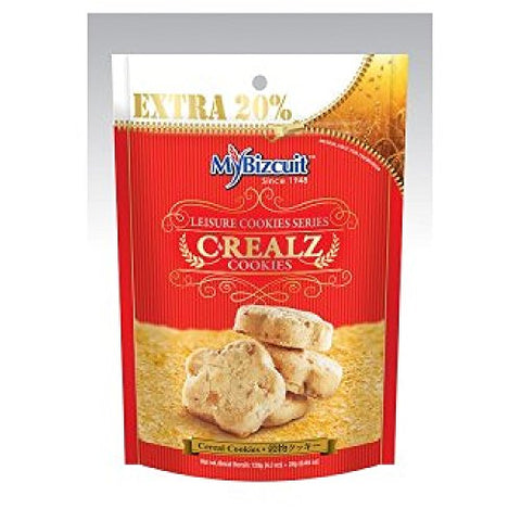 MyBizcuit Cereal Cookies 144g (628MART) (9 Pack)