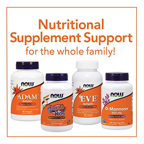 NOW Supplements, BerryDophilus with 2 Billion, 10 Probiotic Strains, Xylitol Sweetened, Strain Verified, 60 Chewables