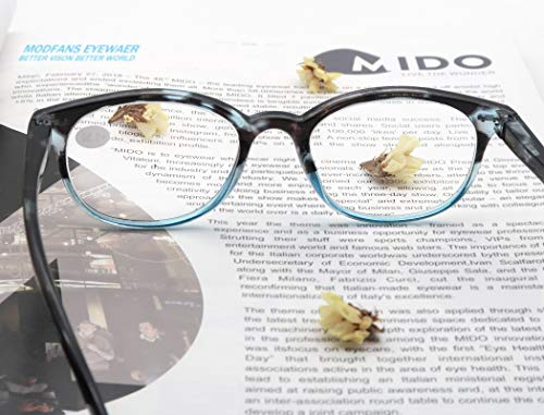 Reading Glasses 1.75 Women 3 Pack Spring Hinge Fashion Round Stylish for Reading with Pouch
