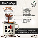 Image of SF Bay Coffee Kona Blend 80 Ct Medium Roast Compostable Coffee Pods, K Cup Compatible including Keurig 2.0