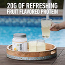 "Image of Isopure Infusions, Refreshingly Light Fruit Flavored Whey Protein Isolate Powder,""Shake Vigorously & Infuses in a Minute"", Pineapple Orange Banana, 16 Servings"