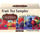 Image of Celestial Seasonings Herbal Tea, Fruit Tea Sampler, 18 Count (Pack of 6)