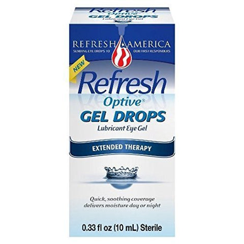 Refresh Optive Gel Drops Extended Therapy, 0.33 Fl Oz (Pack of 2) by Refresh