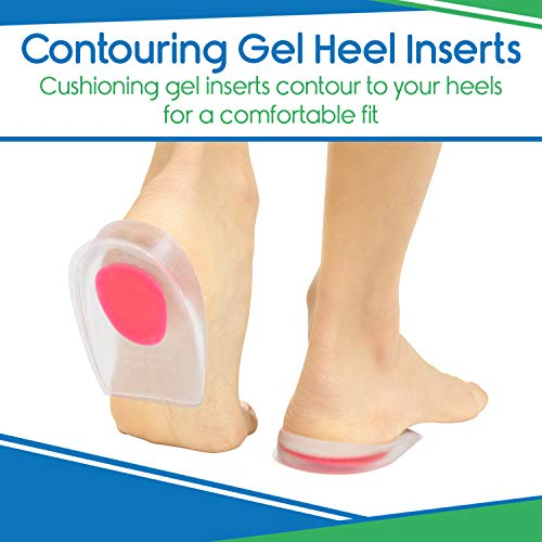 Silicone Gel Heel Cup (US Women's (9-13.5))