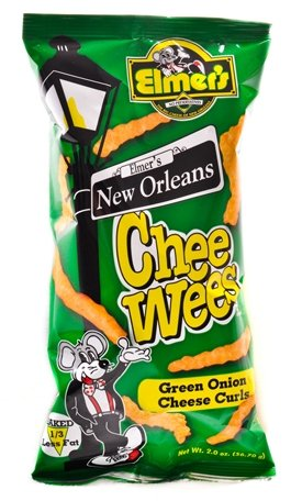 New Orleans CheeWee Chips (Green Onion)