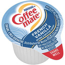 Image of Nestle Coffee mate Liquid Creamer Singles (35070), French Vanilla, 67.5 Fl Oz, (Pack of 180)