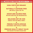 Image of Rooibos Tea Immune Support Teabags - 100 USDA Organic Non GMO Naturally Caffeine Free South African Red Bush Herbal Tagless Tea Bags By Rooibos Rocks - Feel the Goodness and boost your immunity.