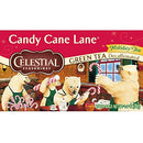 Image of Celestial Seasonings Green Tea, Candy Cane Lane Decaf, 20 Count (Pack of 6)