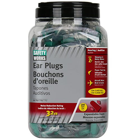 Ear Plugs Foam Dispenser