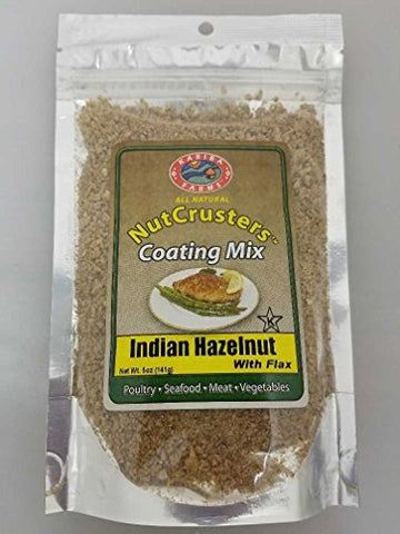 Indian Hazelnut With Flax NutCrusters Gourmet Coating Mix 5 oz.