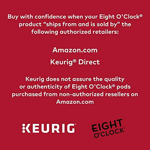 Eight O'Clock Coffee The Original, Single-Serve Keurig K-Cup Pods, Medium Roast Coffee, 24 Count