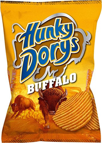 Hunky Dorys Buffalo Flavoured Crisps from Ireland