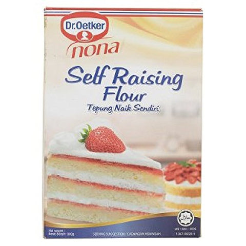 Nona Self Raising Flour 900g (628MART) (1 Pack)