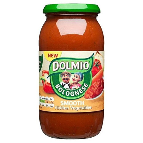 Dolmio Bolognese Smooth Hidden Vegetables 500g