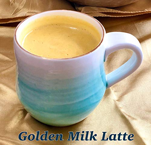 Ayurvedic Organic Golden Milk blend with Turmeric, Ceylon Cinnamon, Ginger and Black Pepper; Anti-Inflammatory (5 oz, 120 cups)