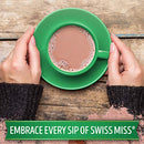 Image of Swiss Miss Milk Chocolate Flavor No Sugar Added Hot Cocoa Mix Canister, 13.8 oz. (Pack of 12)